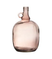 Szklana karafka dekoracyjna w kolorze brązowym holenderskiego producenta StoreBror.<br />Wymiary 27,5x17cm (wysokosc x srednica), pojemność 3...
