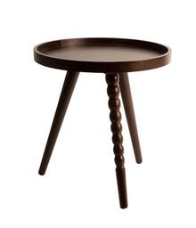 Stolik kawowy ARABICA jest zainspirowany klimatem Azji, wykonany z płyty MDF pokrytej fornirem z drzewa orzechu. Nogi wykonano z litego drewna kauczukowego....