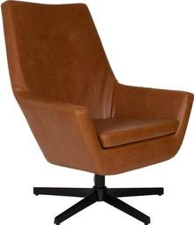 Fotel DON brązowy