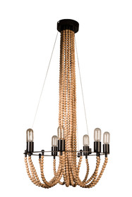 Lampa wisząca BEADS to projekt dopracowany w najmniejszym szczególe. Lampa składa się z ogromnej ilości koralików wykonanych z litego drewna. Naturalny...