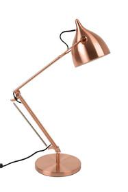 Lampa stołowa z serii Reader, wykonana z metalu, pokryta w całości z wysokiej jakości miedzią. Kolor lampy wpasowuje się w styl vintage. Lampa ma...