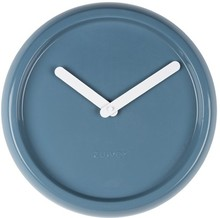 Zegar ceramiczny Duńskiej marki ZUIVER to bardzo nowoczesna propozycja zegara ściennego. Jego jednolity, wyrazisty niebieski kolor ożywi każdą ścianę....