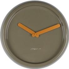 Zielony, ceramiczny zegar marki Zuiver to świetne połączenie stylu nowoczesnego z minimalizmem. Zegar jest okrągły całkowicie jednolity. Wskazówki...