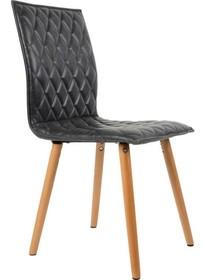 Krzesło Andy produkcji holenderskiej marki Koosjerto idealne połączenie skóry z drewnem. Siedzenie i oparcie krzesła wykonane są z ekologicznej...