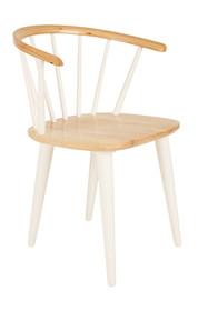 Krzesło Gee produkcji White Label Living to połączenie klasycznego krzesła biurowego z nowoczesnym designem.  Wykończenie oparcia i siedziska wykonane...