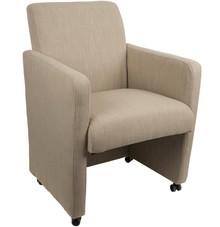 Fotel Luxury marki Koosjerto połączenie funkcjonalności ze stylem. Idealny do biur i na konferencję.  Wykonany w całości z lnu (45% wiskoza, 40%...