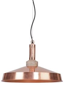 Lampa wisząca Detroit w miedzi świetnie sprawdzi się w pomieszczeniach kuchennych w stylu modernistycznym. Klosz jest wykonany z metalu pokrytego miedzią....