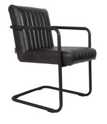 Fotel STITCHED - czarny
