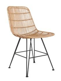 Krzesło rattanowe naturalne