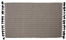 Dywan ZIGGY z frędzlami  Wymiary: 120 x 180 cm (z frędzlami)  Materiał: 100% bawełny