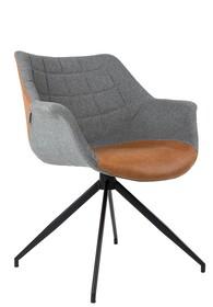 Fotel DOULTON VINTAGE - brązowy