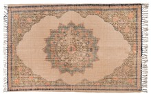 Dywan RURAL  Wymiary: 120x180cm  Materiał: 80% juta, 20% bawełna