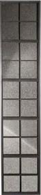 Lustro WINDOW  Materiał: Rama wykonana z żelaza  Wymiary: 37,5x3x178 cm