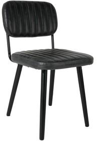 Krzesło JAKE - czarne