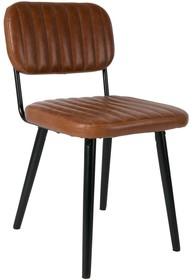Krzesło JAKE - brązowe