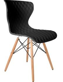 Krzesło CROW buk/czarne