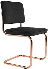 Designerskie krzesło Diamond w szarej tkaninie kultowego producenta Zuiver to krzesło stworzone do nowoczesnych wnętrz.  Materiał: Tapicerka:...