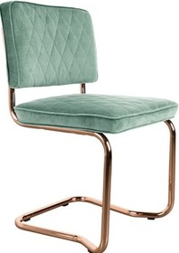 Designerskie krzesło Diamond w miętowej tkaninie kultowego producenta Zuiver to krzesło stworzone do nowoczesnych wnętrz.  Materiał: Tapicerka:...