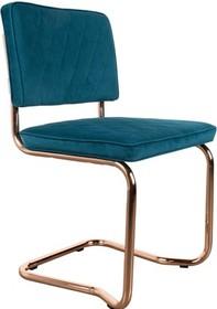 Designerskie krzesło Diamond w zielonej tkaninie kultowego producenta Zuiver to krzesło stworzone do nowoczesnych wnętrz.  Materiał: Tapicerka:...
