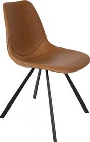 Krzesło FRANKY - brązowe