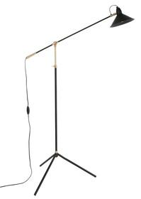 Lampa podłogowa PATT  Wymiary: 54x95/170x19 cm (WxDxH) Wymiar abażura: 19x13 cm (Ø x H) Długość kabla: 183cm