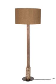 Lampa podłogowa MEMPHIS  Wymiary: 50x148 cm (Ø x H) Wymiary abażura: 50x30 cm (Ø x H) Długość kabla:183 cm