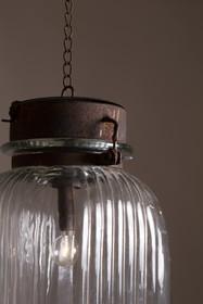 Lampa wisząca GABE rozmiar M  Wymiary abażura: 15x24 cm (Ø x H) Wysokość całkowita: 54 cm  Źródło światła: 0,06 Watt LED, nie wymienne Baterie:...