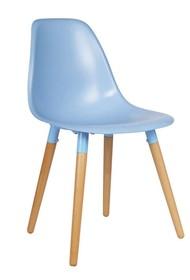 Krzesła ROEF niebieskie - zestaw 2 sztuk