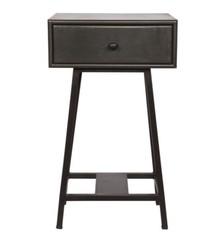 Stolik z szufladą SKYBOX - czarny