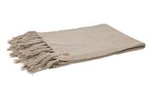 Pled COARSE HEAVY jasnozielony  Wymiary:  - 130x170 cm  Materiał:  - bawełna/ len