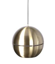 """Lampa wisząca RETRO """"70 GOLD R40  Materiał: Lampa metalowa, kolor złoty  Źródło światła: E27, max. 60 watt Wymiary: 40 x 37 cm (Ø x wys)..."""