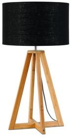 Nowa kolekcja GOOD&MOJO marki It's about ROMILampa stołowa Everest 4-nożna 34cm w kolorze czarnymWymiar abażura: 32x20cmMateriał: lenKolor:...