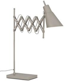 Lampa stołowa Oxford żelazna w kolorze smoke greyWymiary: h: 64cm/ 28-60cmMateriał: żelazoKolor: smoke greyMateriał: żelazoWymiary: 28-60x64cm<br...