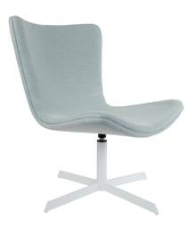 Wygodne krzesło relaksacyjne KJELL  Materiał: Wykonane z różnych materiałów tapicerskich (54% wiskoza, 23% len, 14% poliester, 9% bawełna) Miękkie...