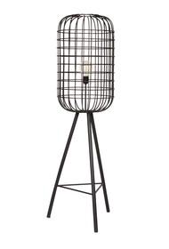 Lampa podłogowa HURRICANE metalowa czarna  Lampa podłogowa HURRICANE metalowa czarna  Wymiary:  - Wysokość: 144 cm - Szerokość: 41 cm -...