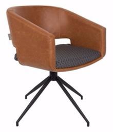Fotel BEAU brązowy