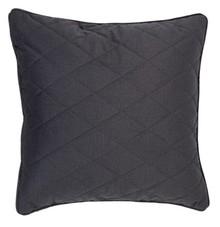 Poduszka DIAMOND SQUARE PEBBLE szara  Wymiary: 50 x 50 cm  Tkanina: 100% poliester Wypełnienie: 100% polieter