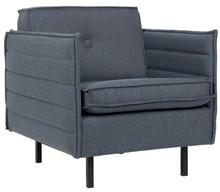 Fotel JAEY COMFORT szaro/niebieski
