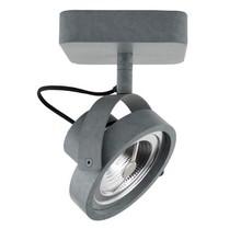 Spotlight DICE-1 LED cynkowanyWymiary: 13,3 x 12 cm (D x Ø)Wymiary podstawy: 12x12x3 cm<br />Regulowany we wszystkich kierunkach<br...