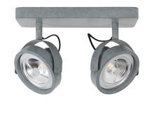 Spotlight DICE-2 LED cynkowany, regulowany we wszystkich kierunkach  Materiał:podstawa stalowa, ocynkowana  Wymiary: 13,3 x 12 cm (D x Ø) Wymiary...