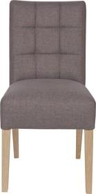 Krzesło stołowe TIJMEN taupe  Kolor:  - Taupe  Wymiary:  - Wysokość: 92 cm - Szerokość: 47 cm - Głębokość: 54 cm  Materiał:  -...
