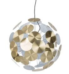 Lampa wisząca Plenty work marki Zuiver. Niezwykle ciekawy design przykłuje wzrok każdej osoby. Wykonana z kilkudziesięciu płytek przymocowanych za...