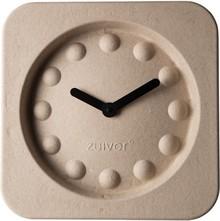 Zegar PULP TIME kwadratowy beżowy.  Wymiary: 36 x 36 x 7 cm  Baterie: 1xAA (nie dołączone)