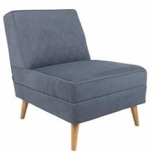 Fotel Lazy Mmarki Zuiver to produkt wysokiej jakości. Dzięki zastosowanym sprężynom w siedzisku jest on niezwykle wygodny.  Materiał: Rama...