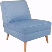Fotel LAZY M - jasnoniebieski