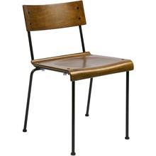 Krzesło szkolne do jadalni naturalne  Kolor:  - Naturalny  Wymiary:  - Wysokość: 101.5 cm - Szerokość: 49 cm - Głębokość: 48.5 cm ...