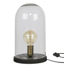 Lampa stołowa COVER UP czarna  Lampa stołowa COVER UP czarna  Wymiary:  - Wysokość: 38 cm - Szerokość: 20 cm - Głębokość: 20 cm  Materiał:...