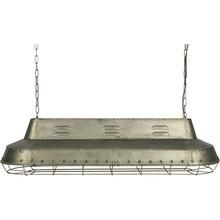 Lampa wisząca SPOTLIGHT metalowa   Wymiary:  - Wysokość: 40 cm - Szerokość: 130 cm   Materiał:  - metal - źródło światła:E27 /...