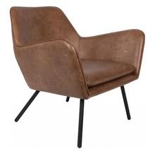 Fotel BON - brązowy