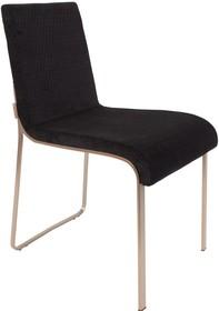 Krzesło FLOR - czarne